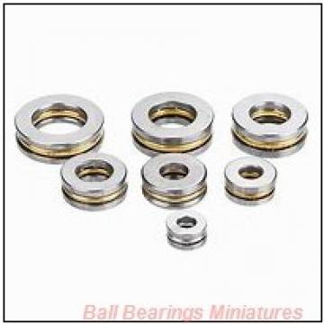 5mm x 11mm x 4mm  ZEN smr115-2z-zen Ball Bearings Miniatures