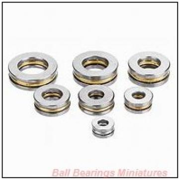 5mm x 14mm x 5mm  ZEN sf605-zen Ball Bearings Miniatures