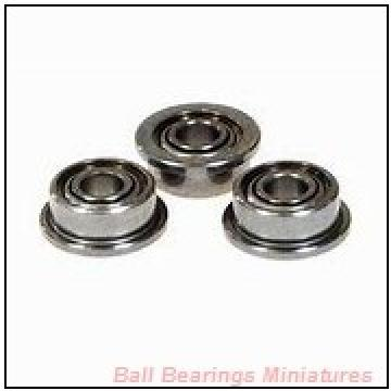 5mm x 14mm x 5mm  ZEN s605-2rs-zen Ball Bearings Miniatures