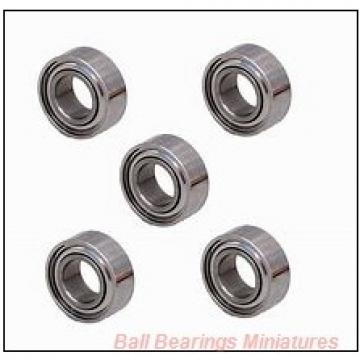 5mm x 13mm x 5mm  ZEN f695-2rs-zen Ball Bearings Miniatures