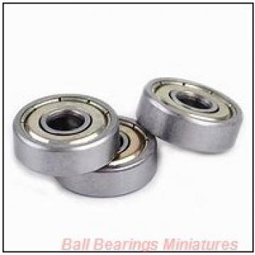 5mm x 13mm x 5mm  ZEN sf695-2z-zen Ball Bearings Miniatures