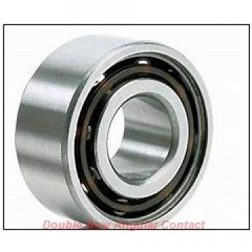 55mm x 100mm x 33.3mm  NSK 3211jc3-nsk Double Row Angular Contact